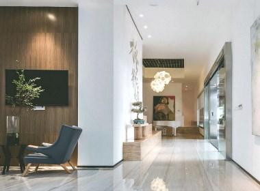 新中式与北欧风公寓