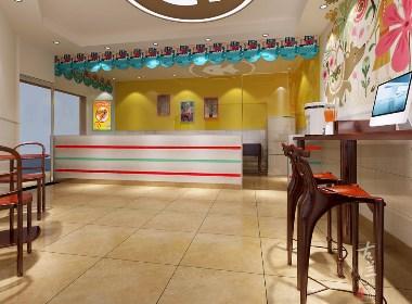 微卤熟食店-成都熟食店设计丨成都熟食店装修丨古兰装饰