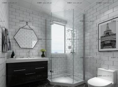 现代卫浴空间模型