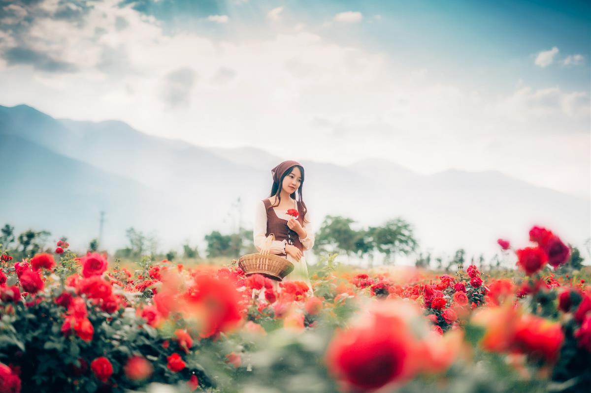玫瑰庄园—人像摄影
