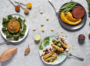 素食食品品牌包装设计