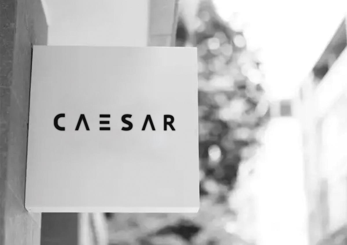 CAESAR Men's clothing brand design