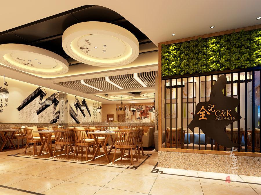 西环广场全记大排档餐厅-成都餐厅设计丨成都餐厅装修丨古兰装饰