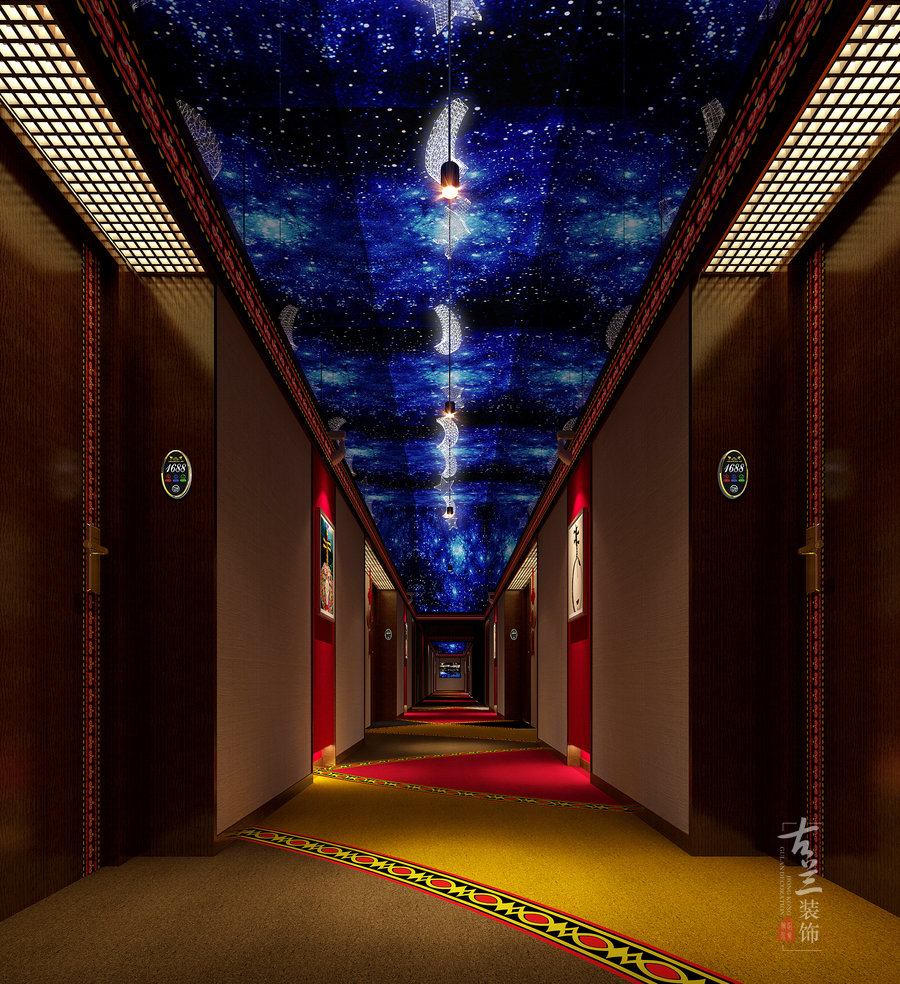 月亮女儿主题酒店-成都专业主题酒店装修设计公司