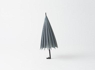 自己站着的雨伞