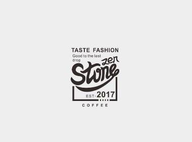 咖啡logo手绘系列