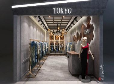TOKYO女装店-成都服装店设计丨成都服装店装修丨古兰装饰