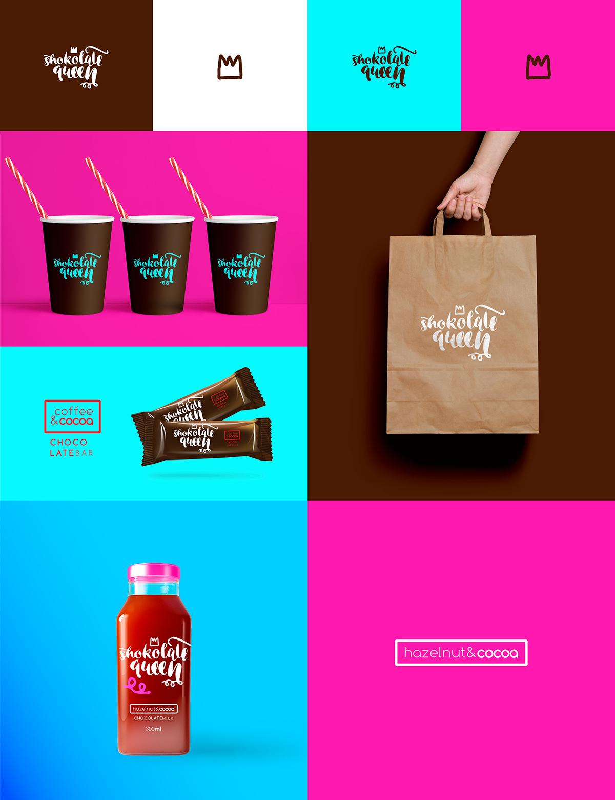 巧克力牛奶包装设计