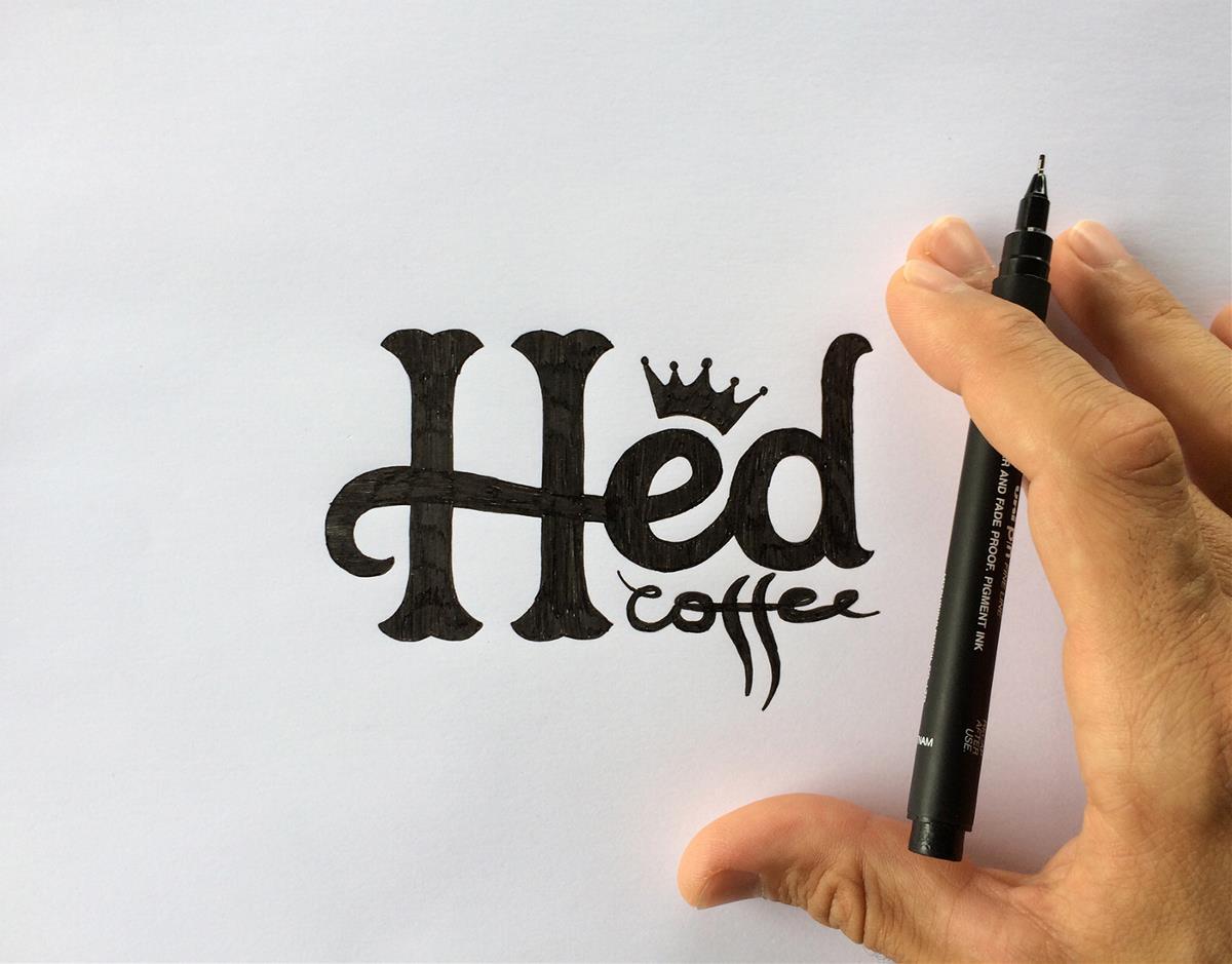 Hed咖啡品牌设计