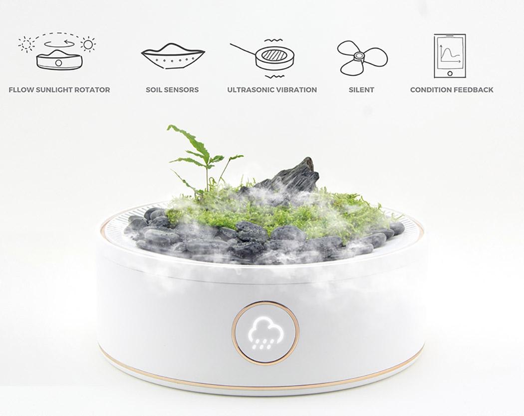 超级智能的盆景种植系统