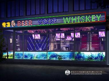 古兰装饰-九眼桥铜马车酒吧-青海专业特色酒吧装修设计公司