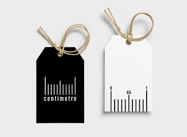 CENTIMETRE以长度为计量单位得灵感品牌设计