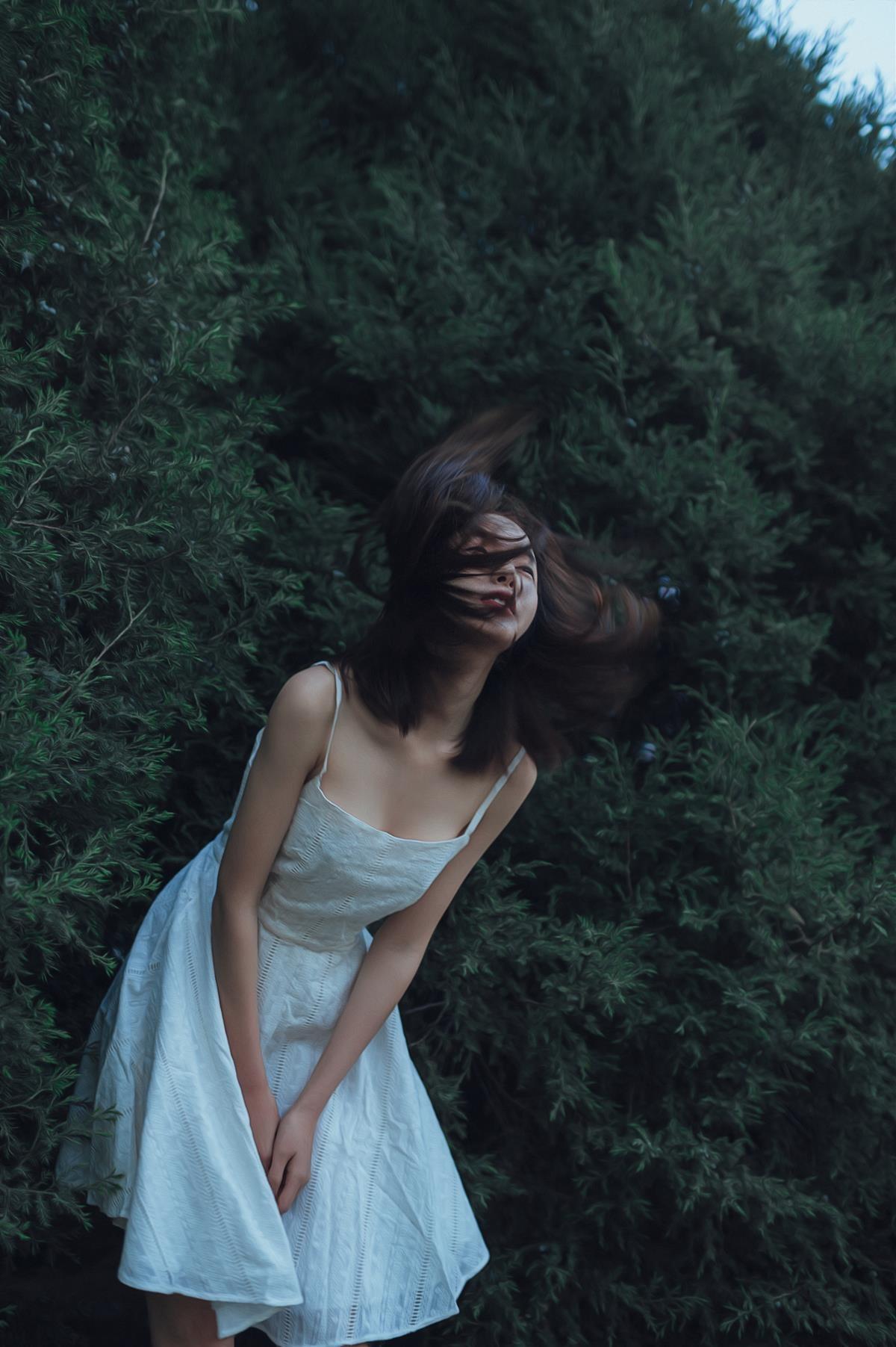 风把你吹进诗里—人像摄影