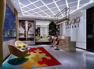 重庆·品游主题酒店-成都主题酒店设计丨成都主题酒店设计公司丨古兰装饰