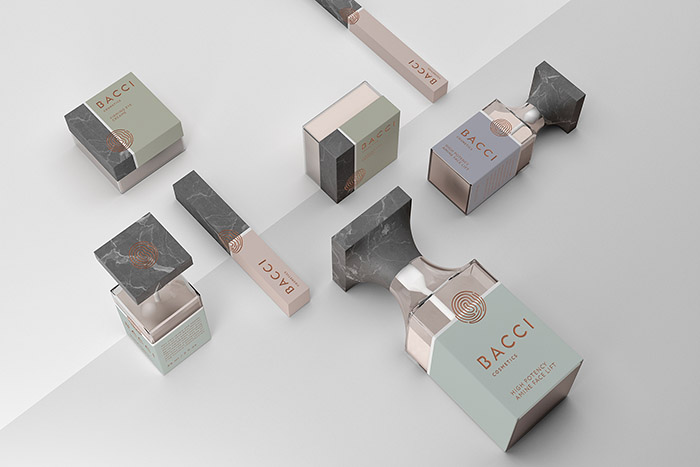 Bacci化妆品包装设计
