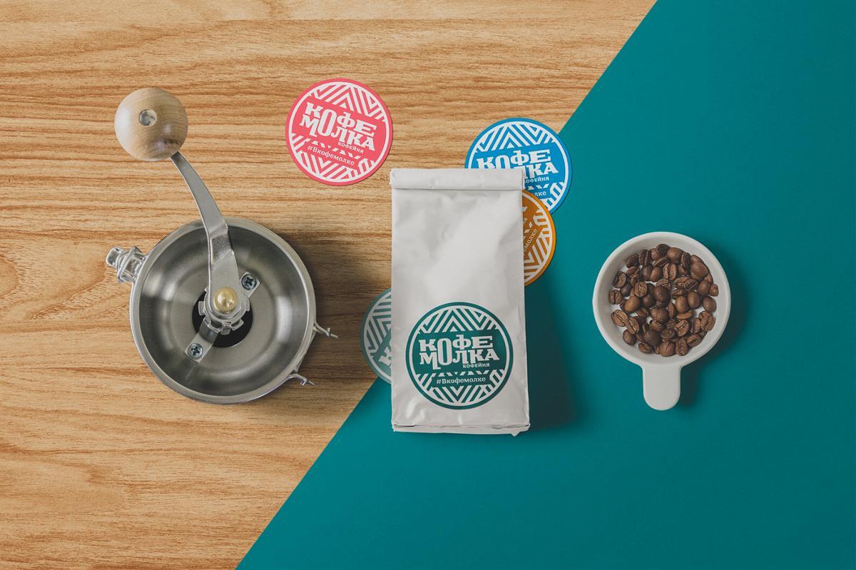 Kofemolka咖啡馆品牌vi设计
