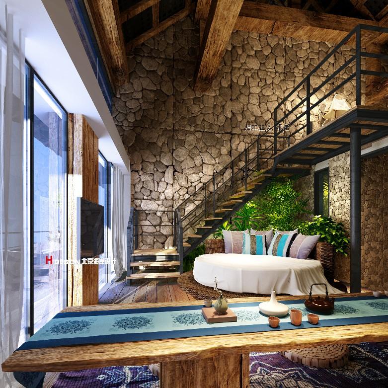 民宿设计,归本主义精品民宿设计案例,云南六度别院|北京海岸设计
