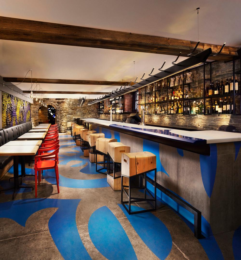 加拿大多伦多 酒吧餐厅
