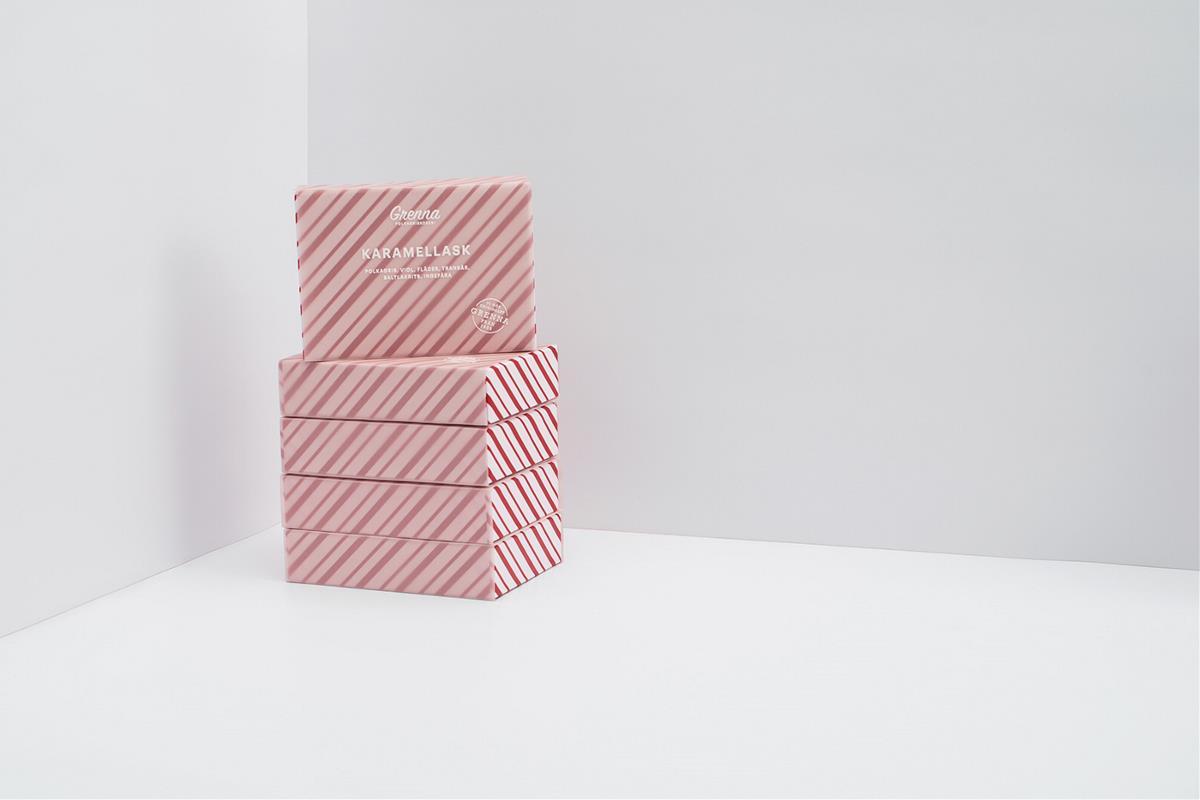 Grenna Polkagriskokeri薄荷糖品牌设计