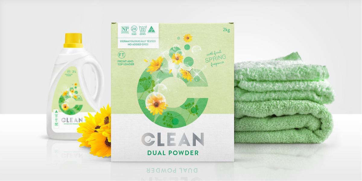 洗衣产品包装设计