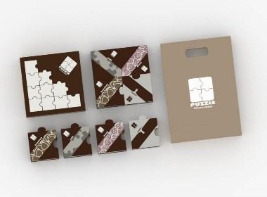 原创巧克力包装设计 PUZZEL chocolate