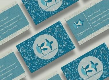 胡尔格达大的水族馆品牌标识设计
