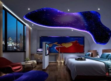 古兰装饰-重庆·品游主题酒店设计-都匀专业特色酒店装修设计公司