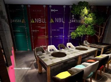 咖啡餐厅设计,李嘉嘉串串香火锅设计方案,北京海岸设计