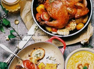 夏日聚餐—静物摄影