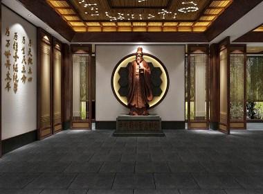 疏朗静谧 上海九州书院禅意新中式风格设计案例