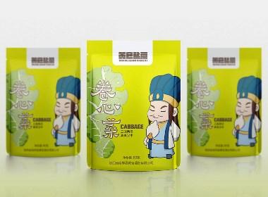 黄官盐菜品牌包装设计