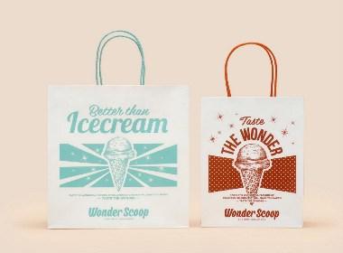 Wonder Scoop冰淇淋包装
