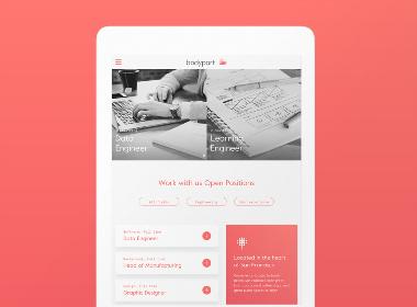 Bodyport品牌网站设计
