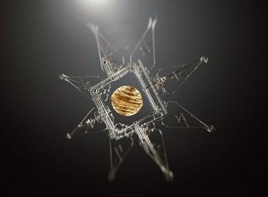 太阳系仪概念艺术设计