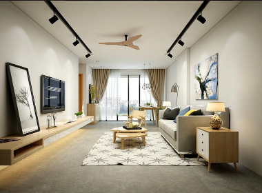 简约美式沙发3d模型
