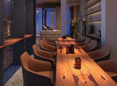 忆泊城市艺术酒店餐厅设计