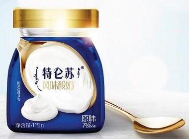 特仑苏风味酸奶品牌策略及包装设计