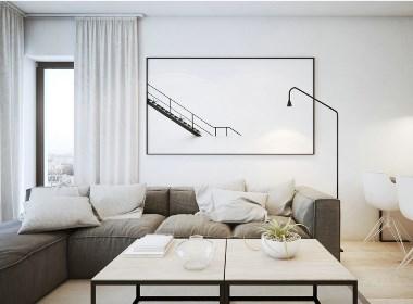 黑白灰时尚公寓