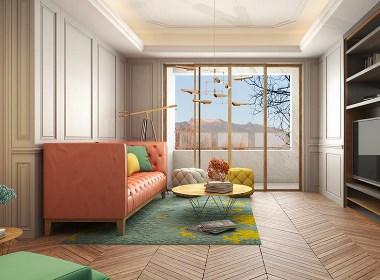 色彩为格调作嫁衣之私宅设计