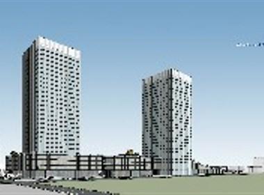 北京海岸商业体设计,仁恒商业综合体设计方案