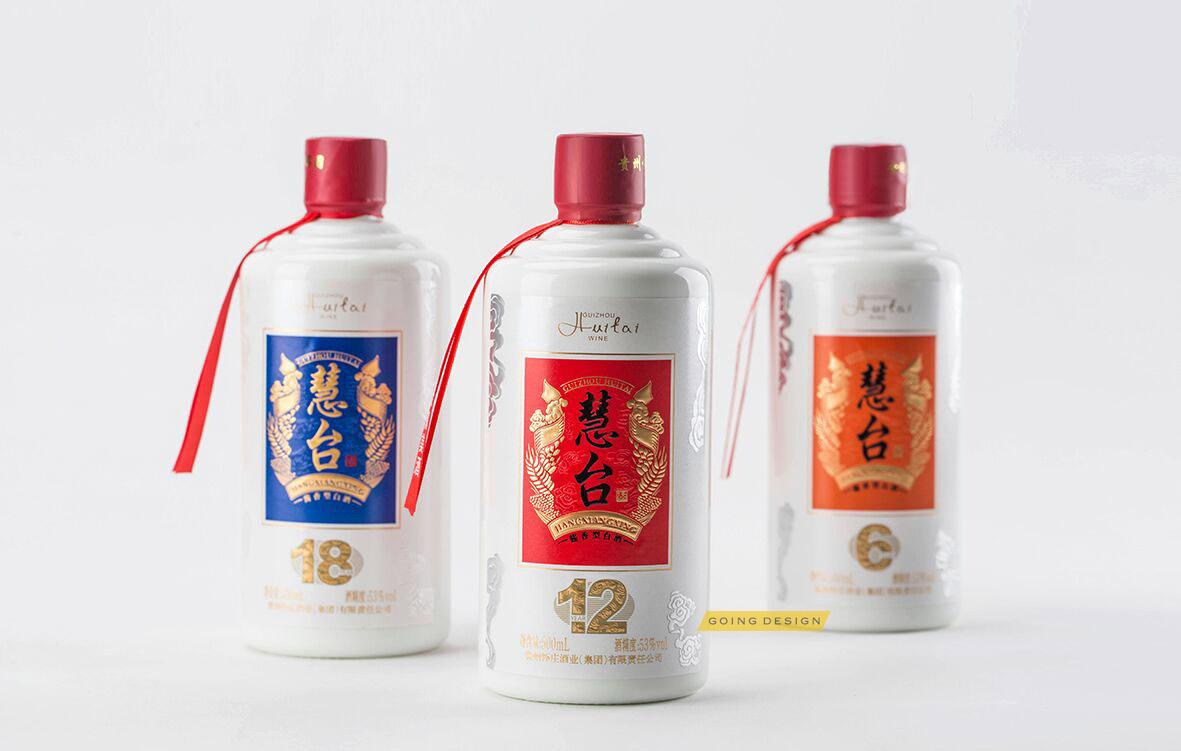 茅台镇怀庄酱香型白酒包装设计,白酒包装设计,酒水包装设计,瓶形标签
