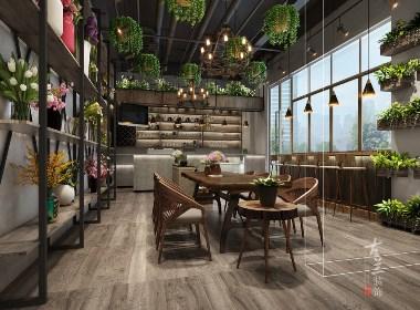 一花一物coffee设计——成都专业特色咖啡厅设计 成都特色咖啡馆设计 成都特色咖啡店设计