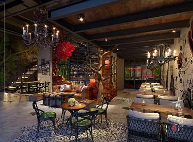 COCO-COFFEE BAR咖啡厅——成都专业特色咖啡店设计公司 古兰装饰