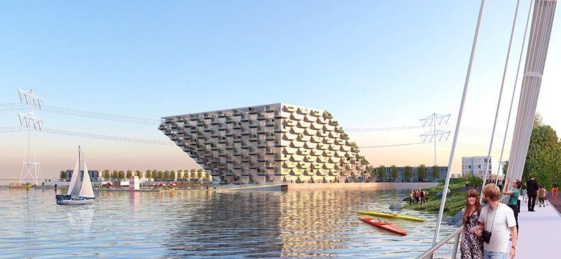 阿姆斯特丹水上住宅建筑