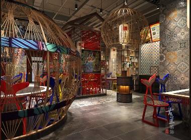 成都海鲜餐厅设计 成都餐厅设计公司