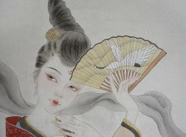 鹤舞插画欣赏