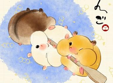 日式小零食插画欣赏