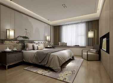 武汉中建福地星城洪宅室内设计