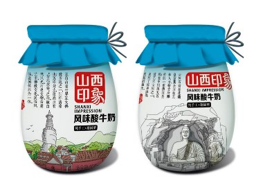 山西印象系列酸奶