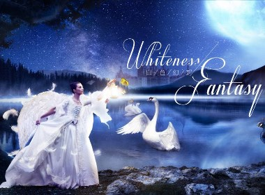 梦境创意海报-白色幻想